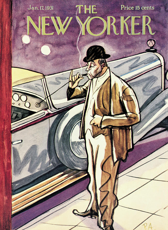 New Yorker January 17th, 1931 Painting by Peter Arno