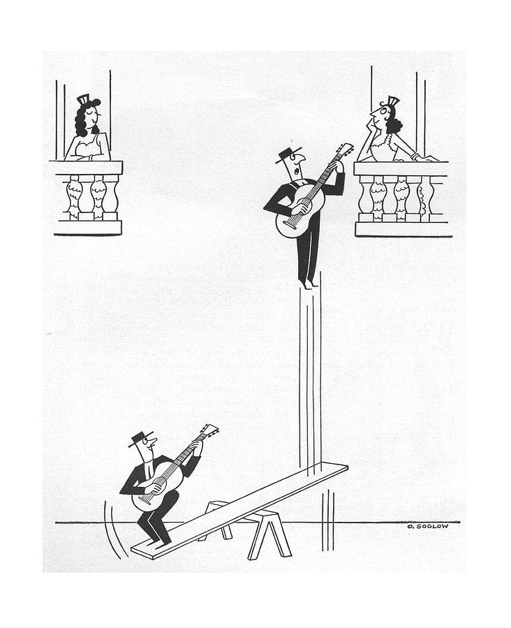 New Yorker January 17th, 1959 Drawing by Otto Soglow