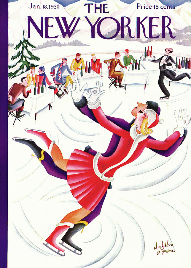 New Yorker January 18th, 1930 Painting by Constantin Alajalov
