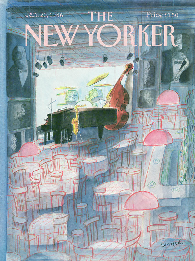 New Yorker January 20th, 1986 Painting by Jean-Jacques Sempe