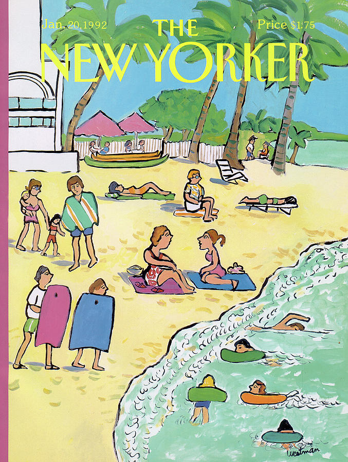 New Yorker January 20th, 1992 Painting by Barbara Westman