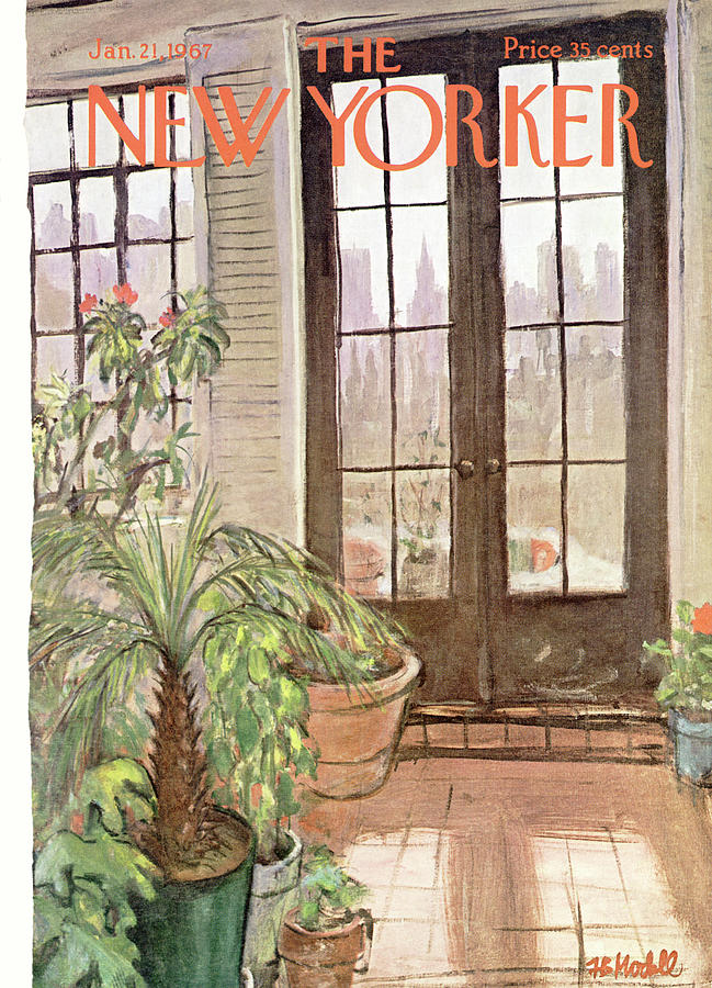 New Yorker January 21st, 1967 Painting by Frank Modell