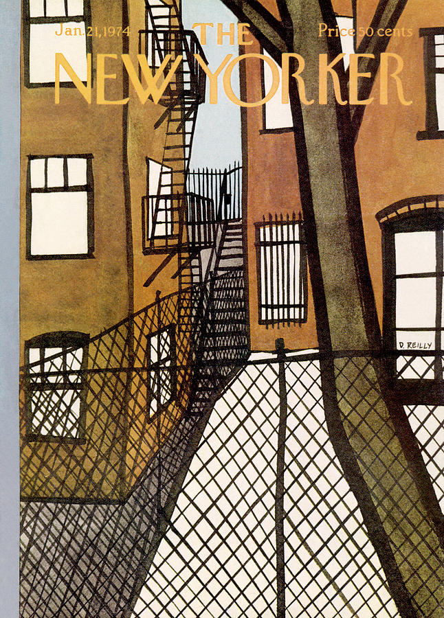 New Yorker January 21st, 1974 Painting by Donald Reilly