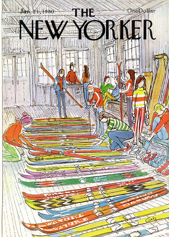 New Yorker January 21st, 1980 Painting by Arthur Getz