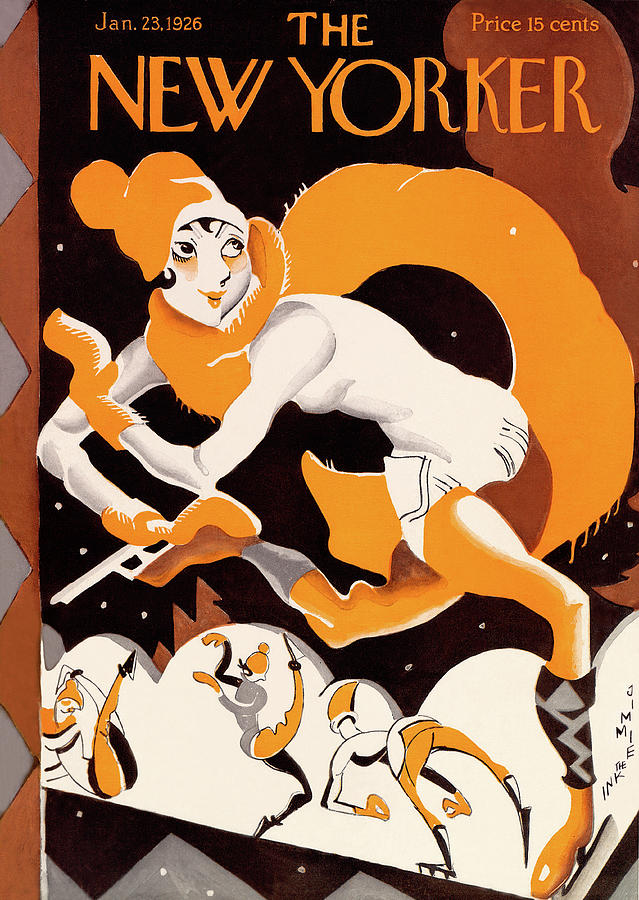 New Yorker January 23rd, 1926 Painting by James Daugherty