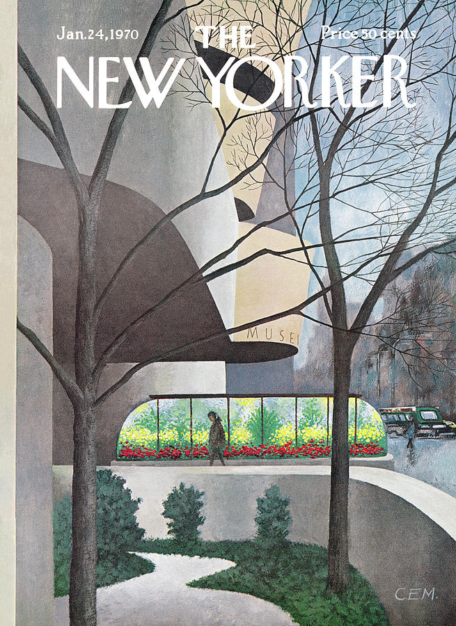 New Yorker January 24th, 1970 Painting by Charles E Martin