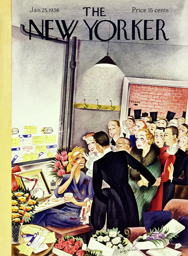 New Yorker January 25 1936 Painting by Constantin Alajalov