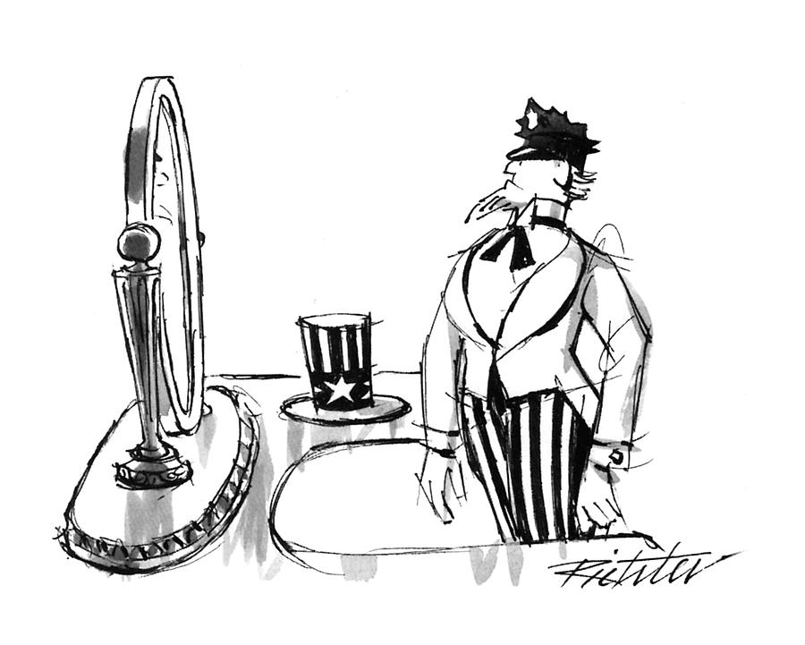 New Yorker January 25th, 1993 Drawing by Mischa Richter