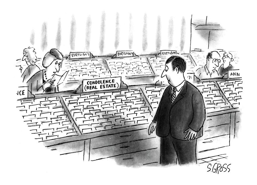 New Yorker January 25th, 1993 Drawing by Sam Gross