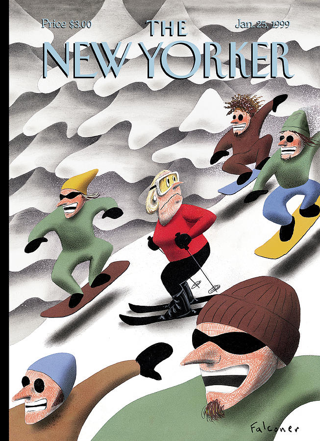 New Yorker January 25th, 1999 Painting by Ian Falconer