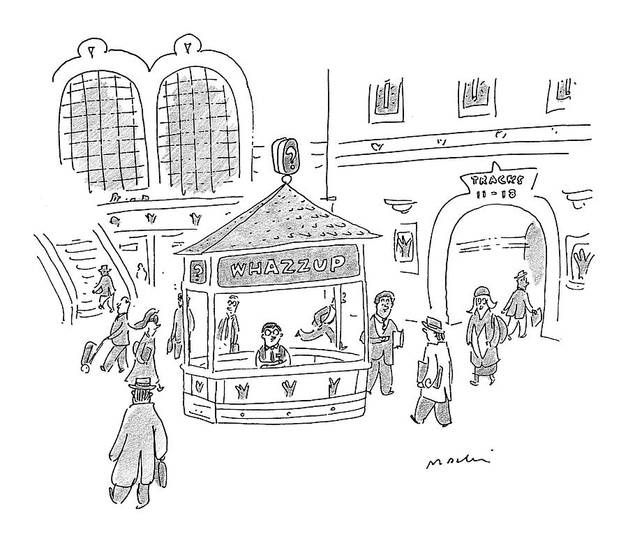 New Yorker January 25th, 1999 Drawing by Michael Maslin