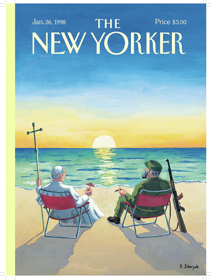 New Yorker January 26th, 1998 Painting by R Sikoryak