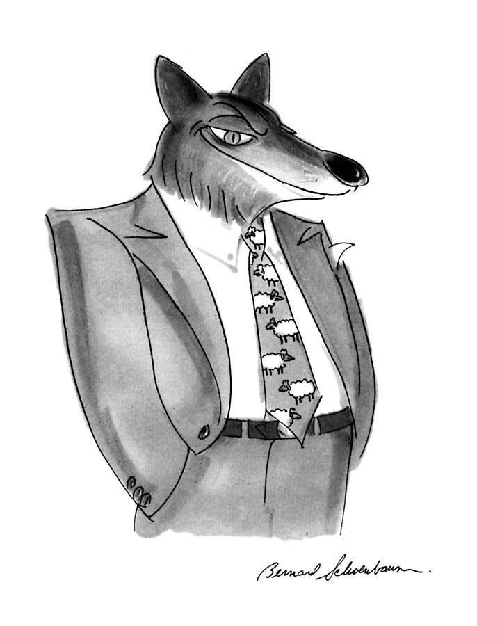 New Yorker January 27th, 1992 Drawing by Bernard Schoenbaum