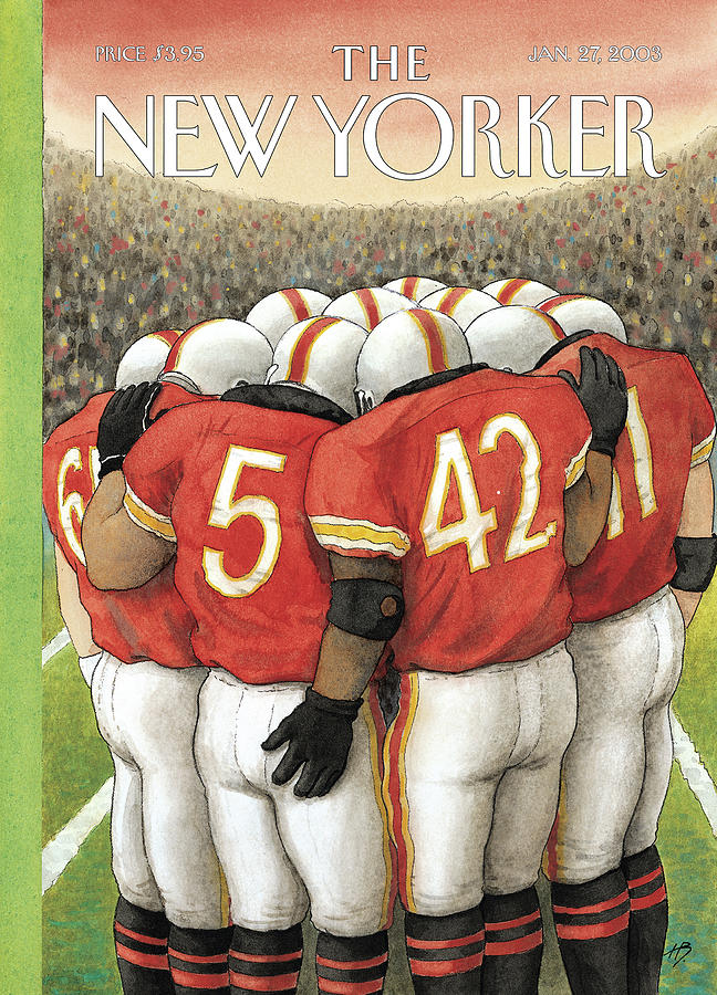 New Yorker January 27th, 2003 Painting by Harry Bliss