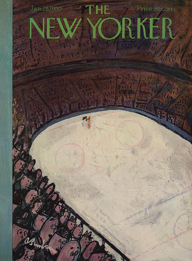 New Yorker January 28th, 1950 Painting by Abe Birnbaum