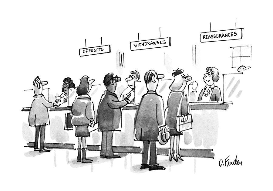 New Yorker January 28th, 1991 Drawing by Dana Fradon