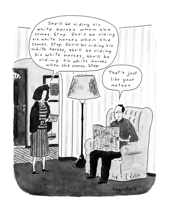 New Yorker January 28th, 1991 Drawing by Danny Shanahan