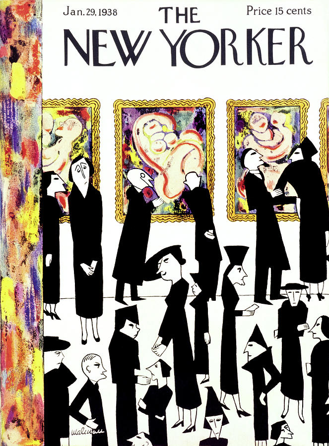New Yorker January 29 1938 Painting by Christina Malman