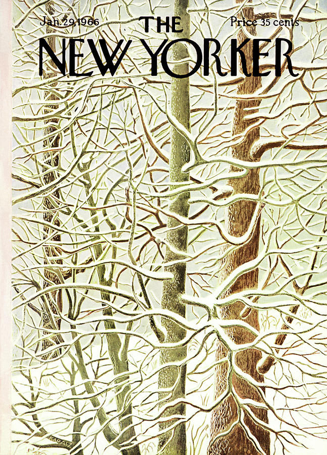 New Yorker January 29th, 1966 Painting by Ilonka Karasz