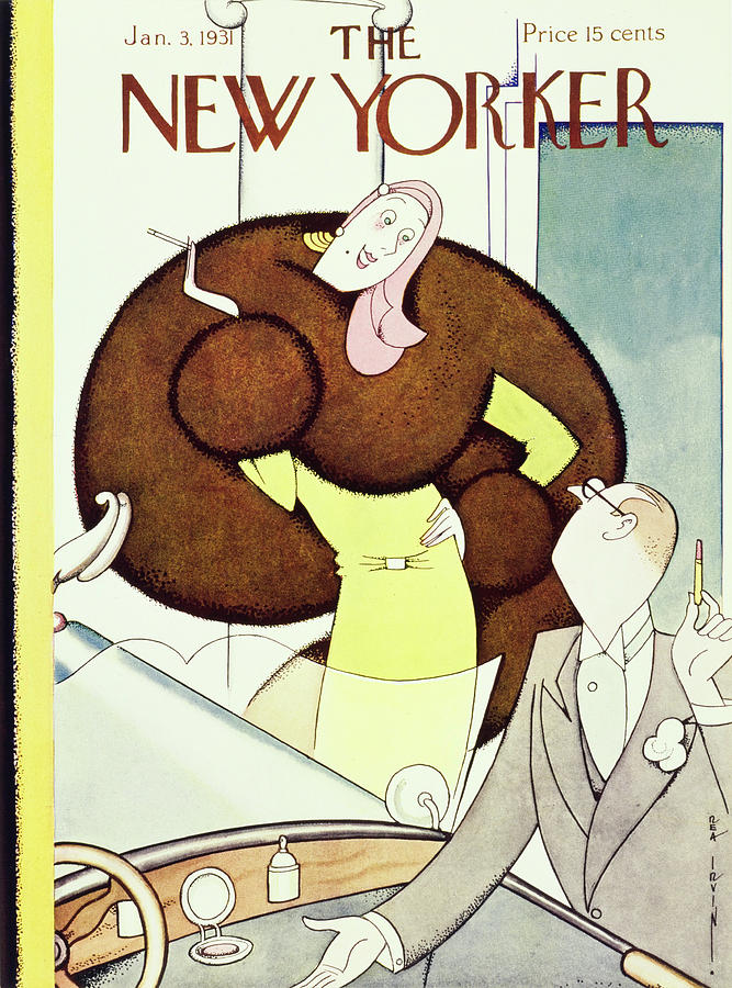 New Yorker January 3 1931 Painting by Rea Irvin