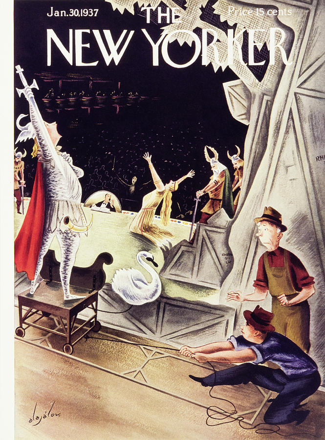 New Yorker January 30 1937 Painting by Constantin Alajalov