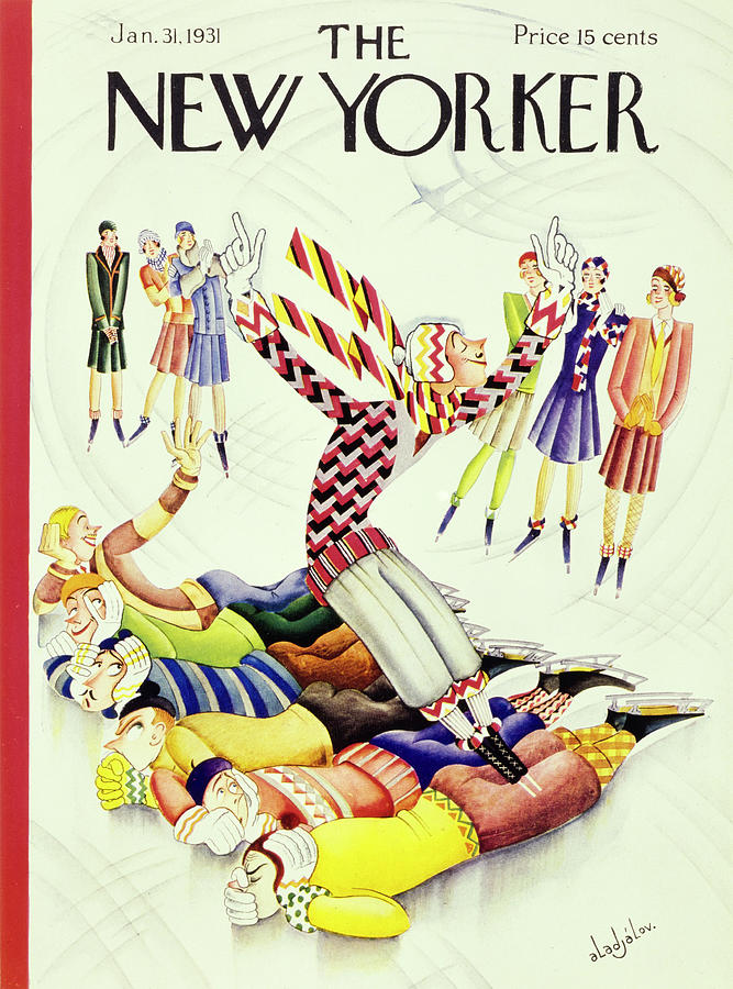 New Yorker January 31 1931 Painting by Constantin Alajalov