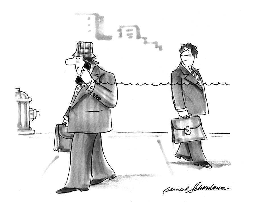New Yorker January 31st, 1994 Drawing by Bernard Schoenbaum