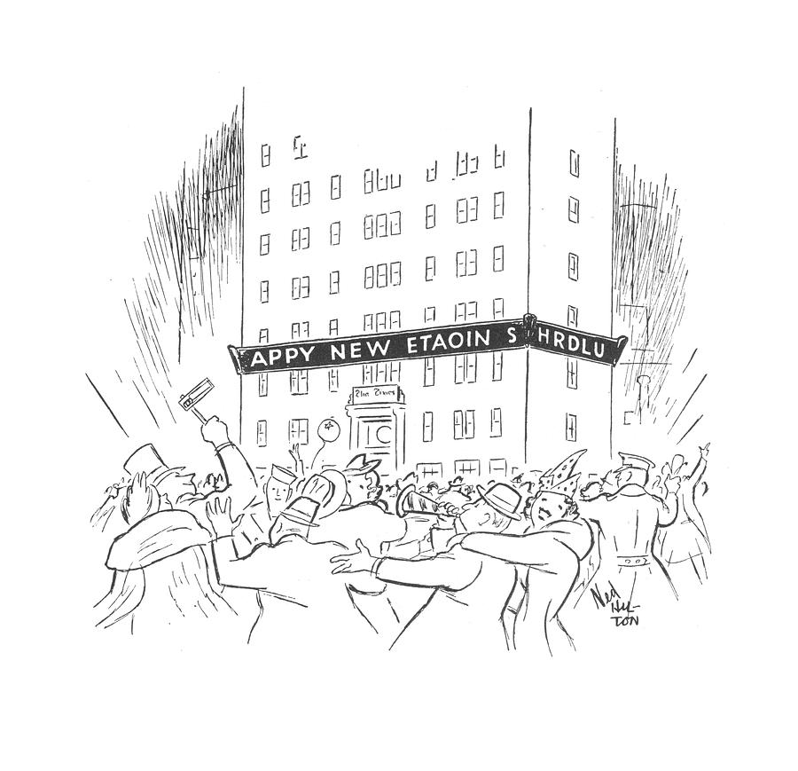 New Yorker January 3rd, 1942 Drawing by Ned Hilton
