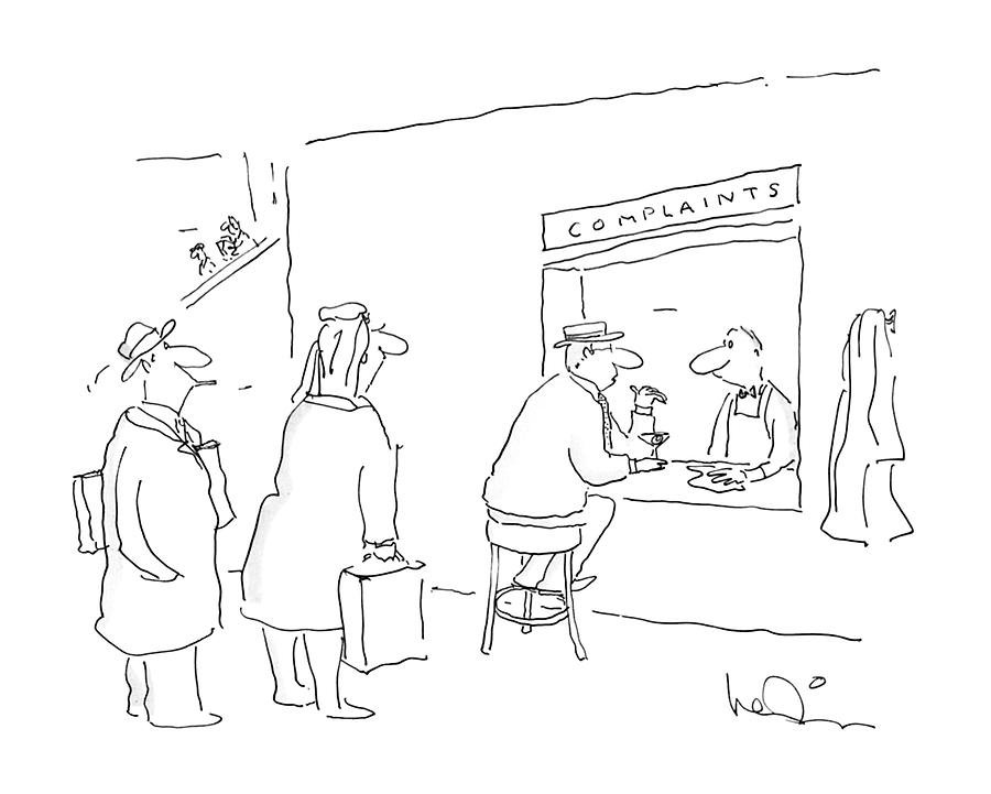New Yorker January 4th, 1988 Drawing by Arnie Levin
