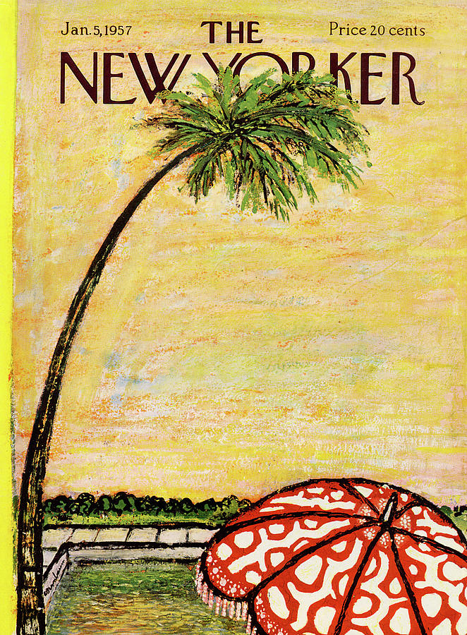 New Yorker January 5th, 1957 Painting by Abe Birnbaum
