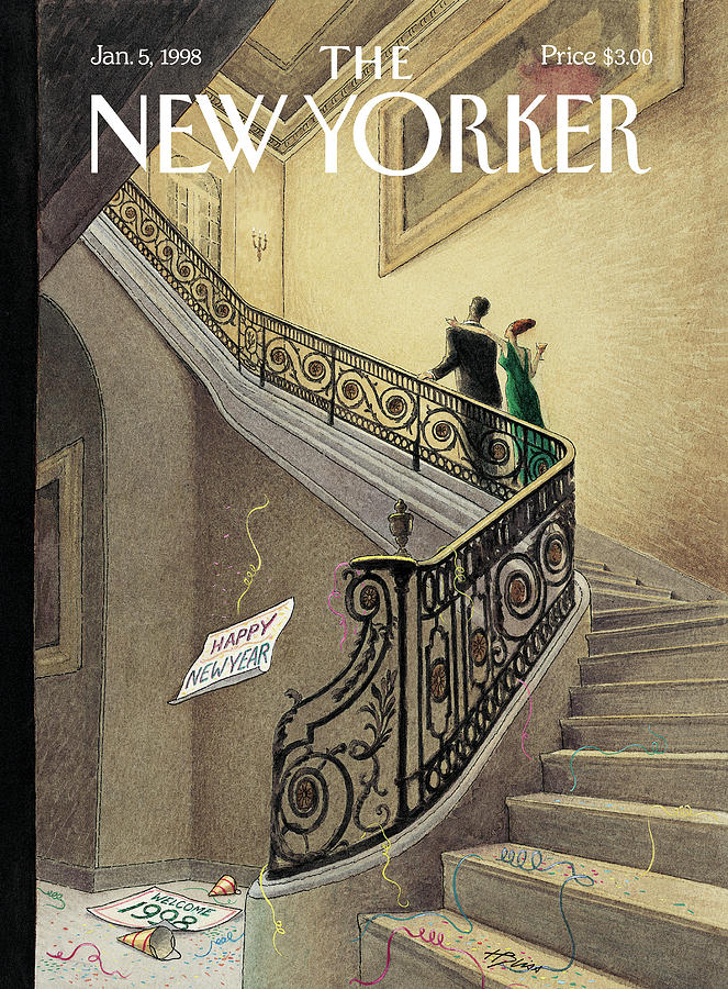 New Yorker January 5th, 1998 Painting by Harry Bliss
