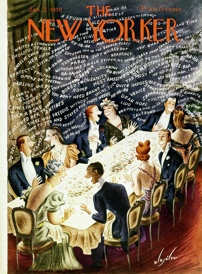 New Yorker January 7 1939 Painting by Constantin Alajalov