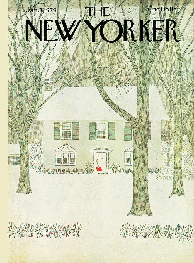 New Yorker January 8th, 1979 Painting by Charles E Martin