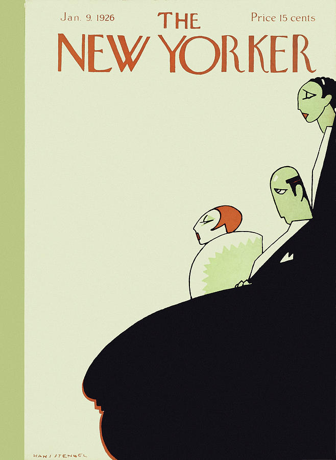 New Yorker January 9 1926 Painting by Hans Stengel