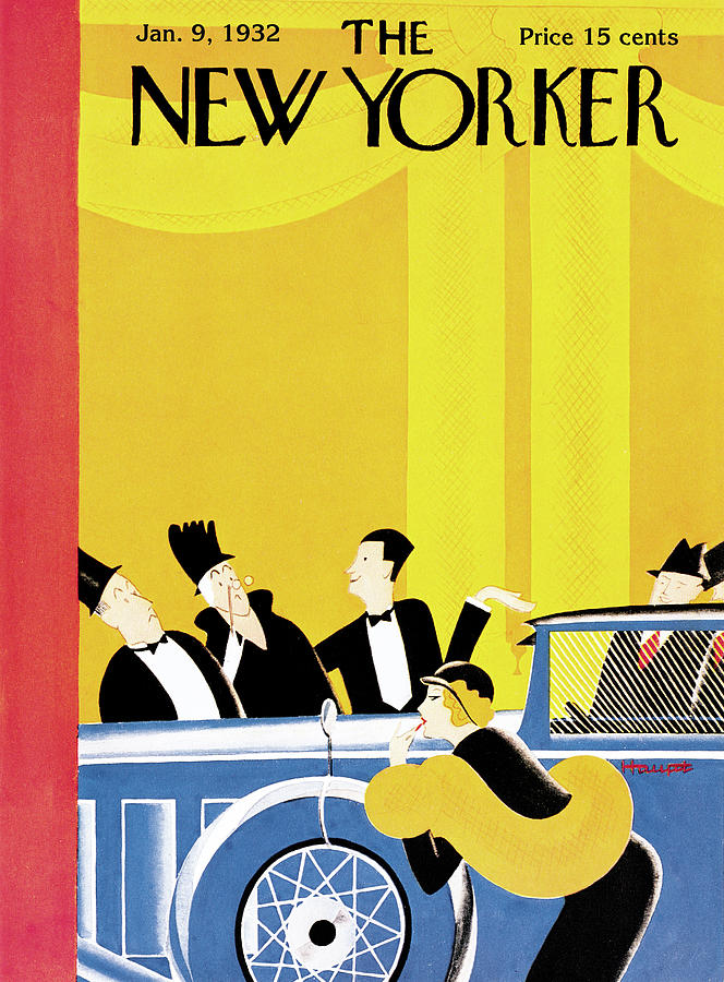 New Yorker January 9th, 1932 Painting by Theodore G Haupt