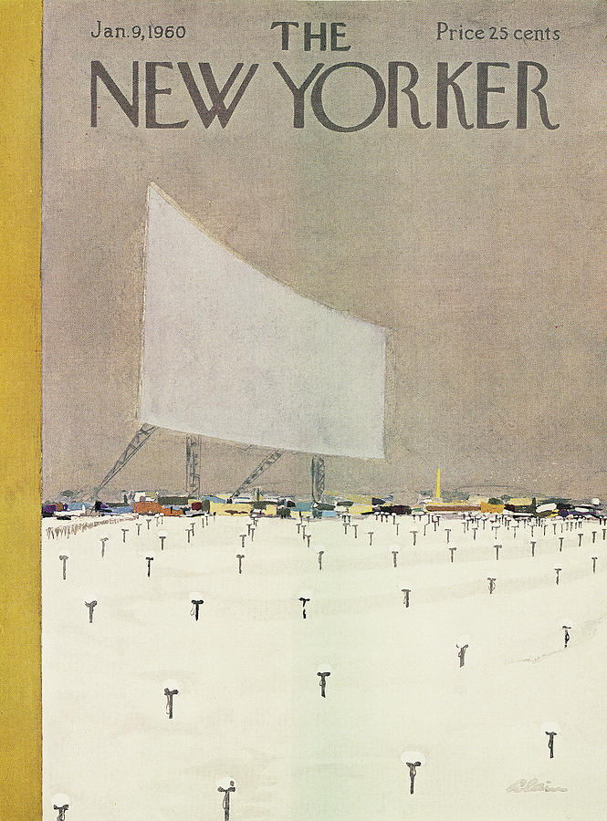 New Yorker January 9th, 1960 Painting by Alain
