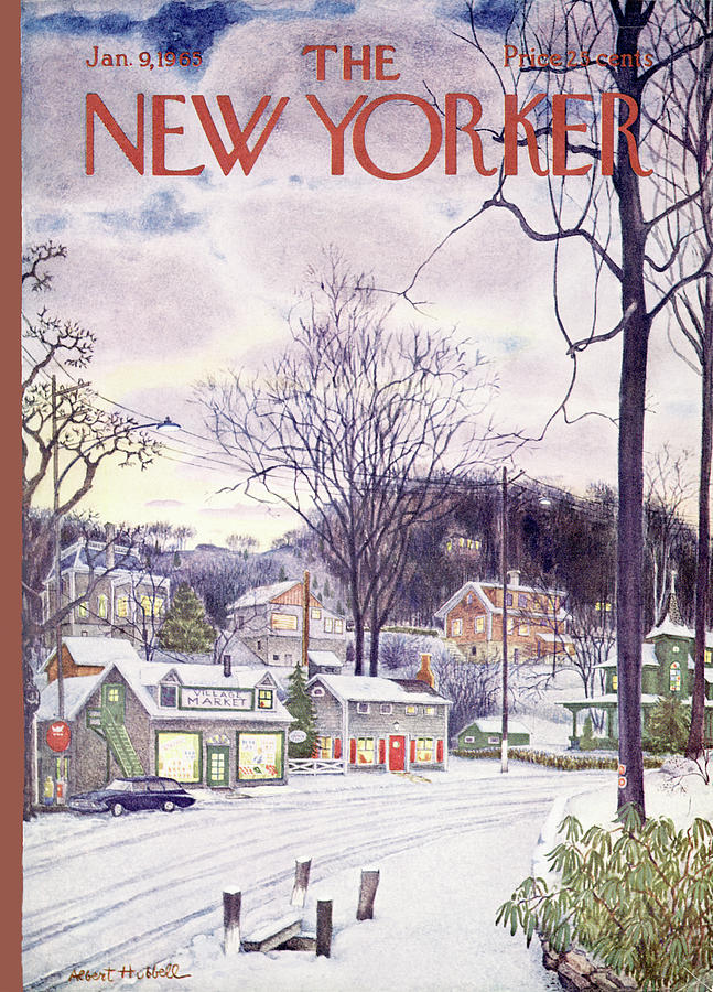 New Yorker January 9th, 1965 Painting by Albert Hubbell