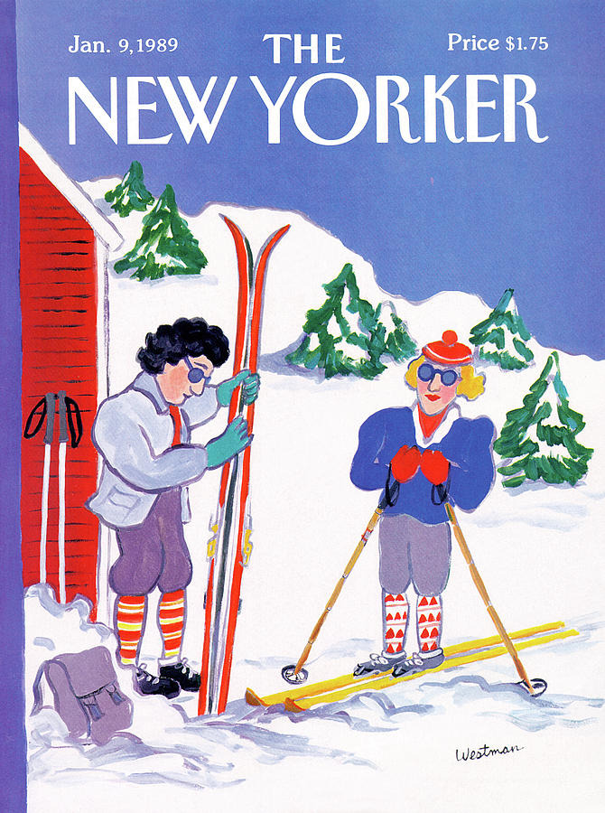 New Yorker January 9th, 1989 Painting by Barbara Westman