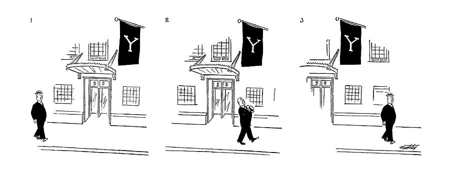 New Yorker July 10th, 1954 Drawing by Mischa Richter