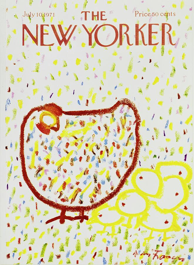 New Yorker July 10th 1971 Painting by Andre Francois