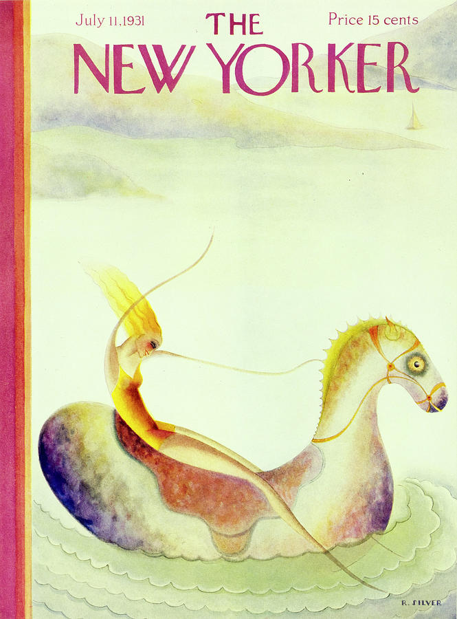 New Yorker July 11 1931 Painting by Rose Silver