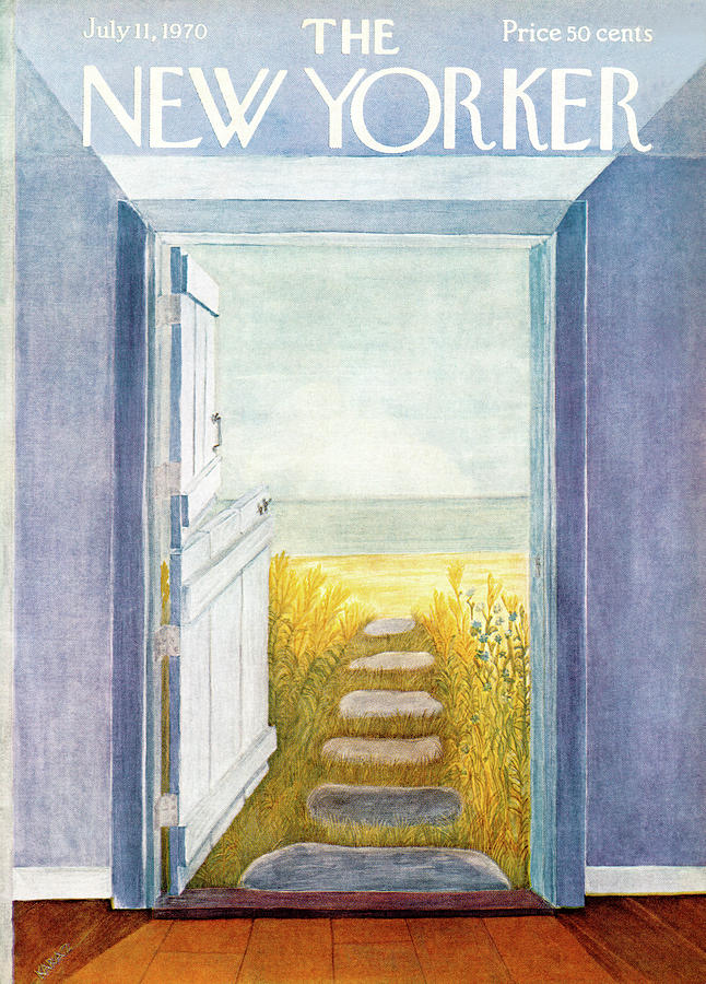 New Yorker July 11th, 1970 Painting by Ilonka Karasz