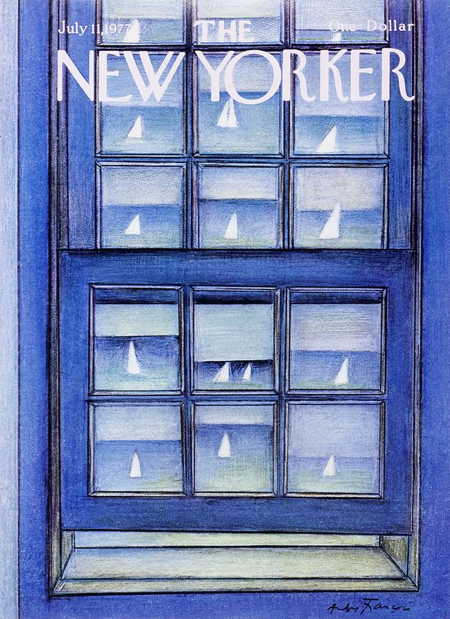 New Yorker July 11th 1977 Painting by Andre Francois