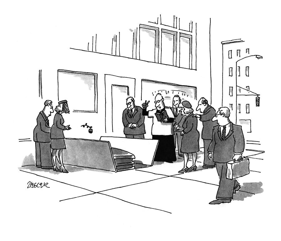 New Yorker July 11th, 1994 Drawing by Jack Ziegler