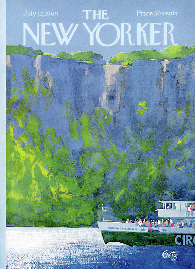 New Yorker July 12th, 1969 Painting by Arthur Getz