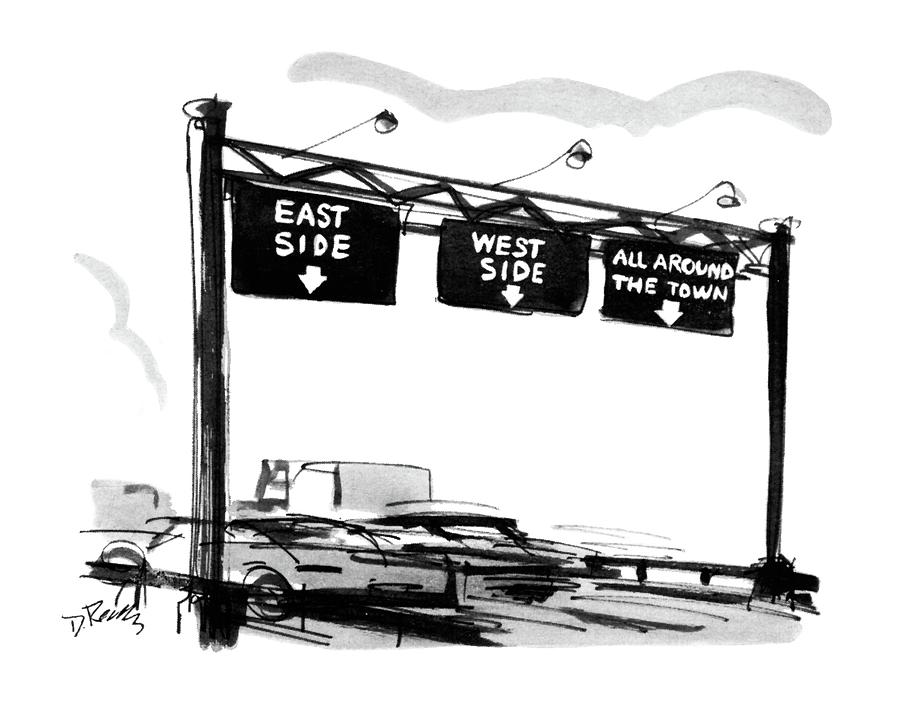New Yorker July 12th, 1969 Drawing by Donald Reilly