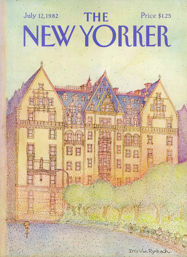 New Yorker July 12th, 1982 Painting by Iris VanRynbach