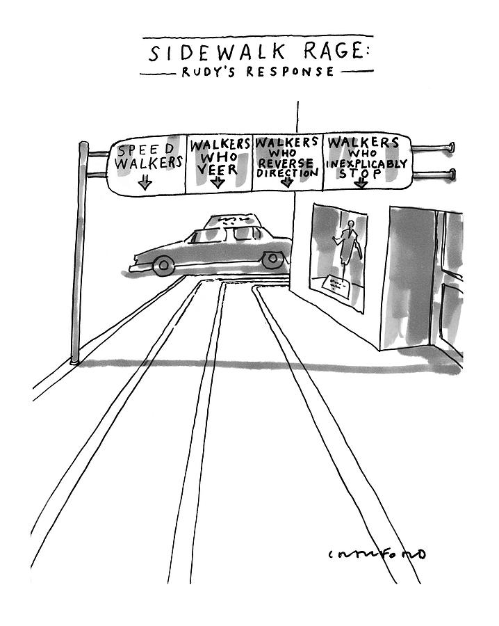 New Yorker July 12th, 1999 Drawing by Michael Crawford