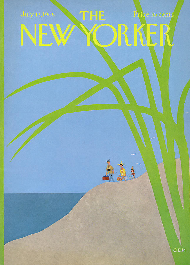 New Yorker July 13th, 1968 Painting by Charles E Martin