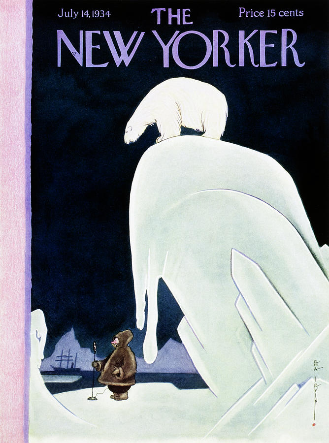 New Yorker July 14 1934 Painting by Rea Irvin